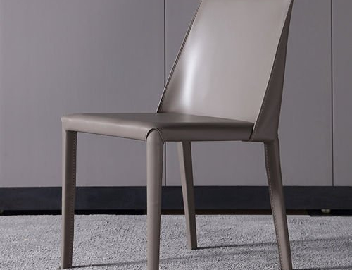 Modern Leather Dining Chair