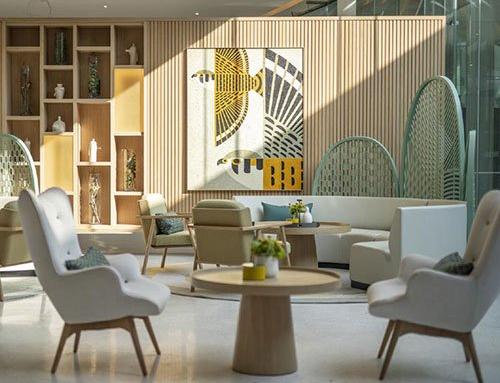 Round Sofa For Hotel Lobby