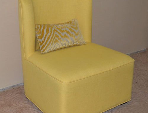 Leisure Fabric Sofa Chair