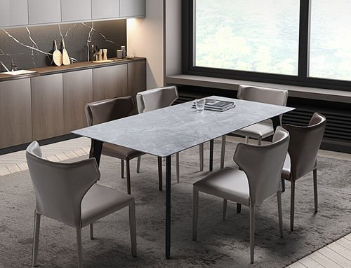 Modern Dining Table & Chair
